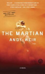 The Martian, written by Andy Weir.